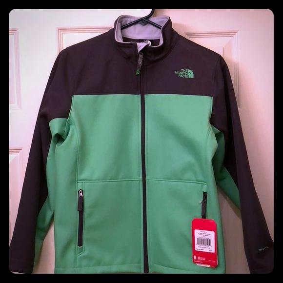 the north face jackets coats boys apex bionic jacket poshmark rh poshmark com